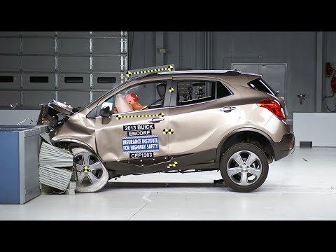 2013 Buick Encore moderate overlap test