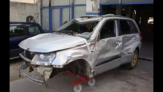 Rebuild destroyed grand vitara (trailer)