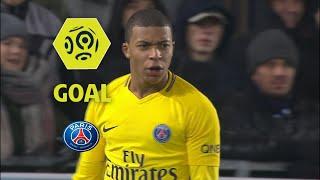 Goal Kylian MBAPPE 42 / RC Strasbourg Alsace - Paris Saint-Germain 2-1 / 2017-18