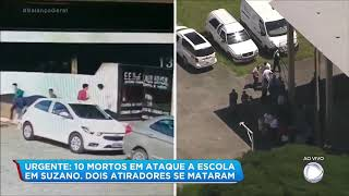 Áudio revela que policial civil entrou na escola no momento do tiroteio