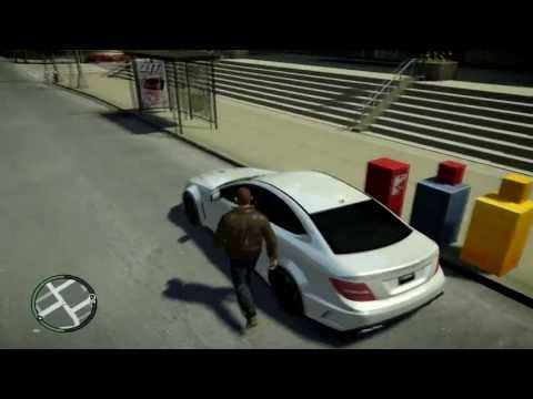 Mercedes-Benz C63 AMG model for GTA IV    Free Download