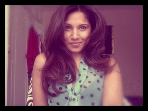 Review/Tutorial Babyliss Big Hair Rotating Brush Tutorial! ♥ Kate Middleton style Glamorous Waves