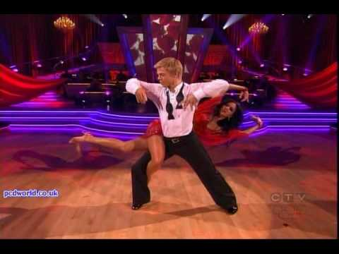 Nicole & Derek - Dancing the Rumba (Dancing With The Stars Finale - 24th May 2010)