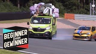 Formel 1: Nico Hülkenberg mit Messie-Lieferwagen gegen Joko   Beginner gegen Gewinner   ProSieben