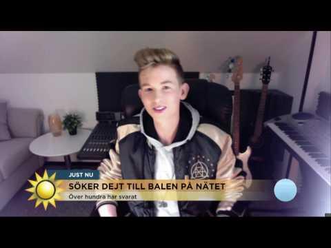 Telegram: Pontus söker dejt till balen - Nyhetsmorgon (TV4)