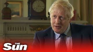 PM Boris Johnson says the UK won't go on remaining in the EU beyond October