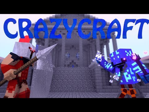 "Minecraft | CrazyCraft - OreSpawn Modded Survival Ep 44 - ""TREATY FOR MOBZILLA"""
