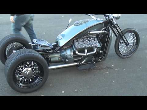 Ford Flathead trikeFord V8 Flathead trike chopper. Currently for sale
