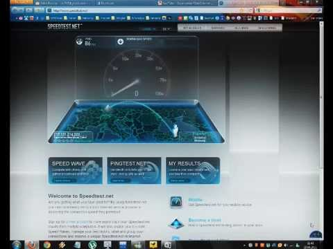 Superonline Fiber İnternet Franfurt Hız Testi 29.06.2011 Saat: 21:45