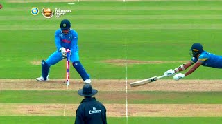 Unbeatable MS DHONI MS Dhoni Top RUN OUTS