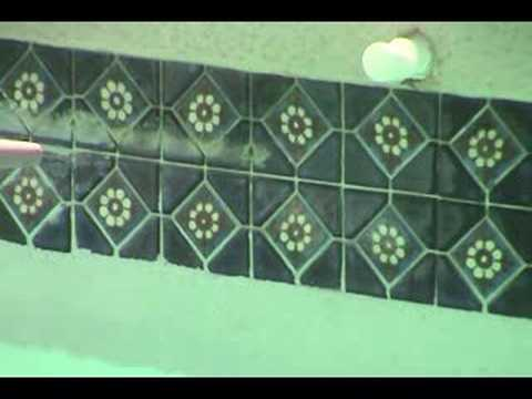 Pool Tile Cleaning by Arizona Bead Blasting