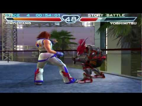 Tekken 4 1080p running on PCSX2 0.9.9 SVN