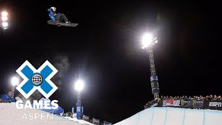 Scotty James wins Men's Snowboard SuperPipe silver | X Games Aspen 2018