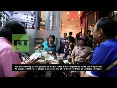 "Thailand: Starbucks fuels ""Shutdown Bangkok"" protesters"