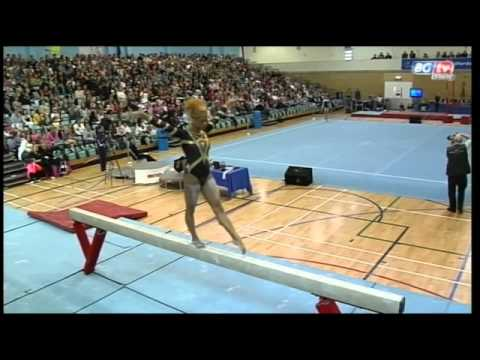 Danusia Francis - British Team Championships- Beam