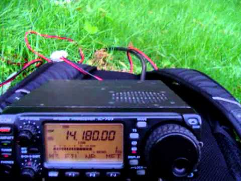 QSO with 9H4JX from KC2TAU