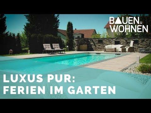 Traum - der Swimming Pool im eigenen Garten
