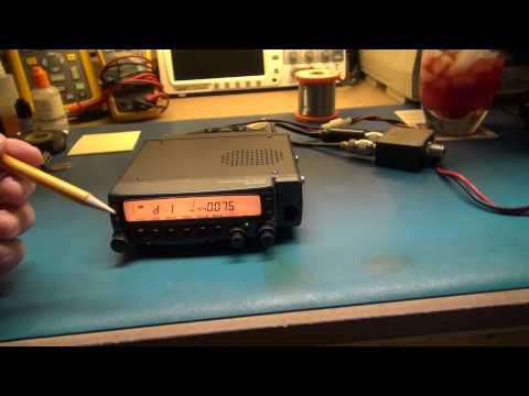 KENWOOD TM-733 HAM RADIO REPAIR