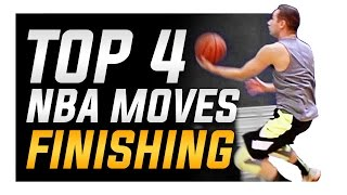 Top 4 NBA Finishing Moves: World's Best Basketball Moves