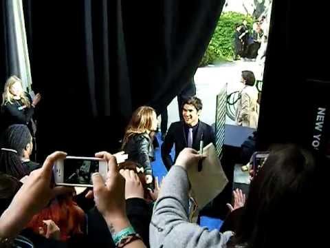Darren Criss of Glee ariving @ Fox Fan Upfronts 2013