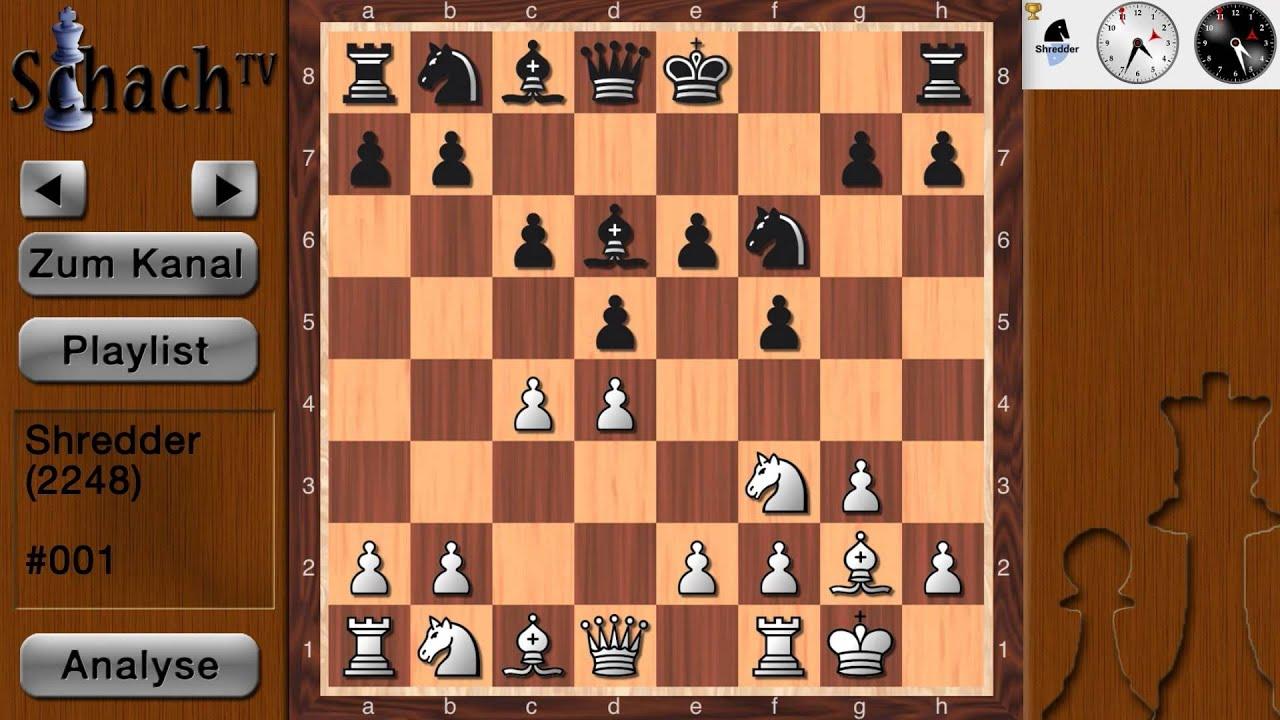 schach mit shredder