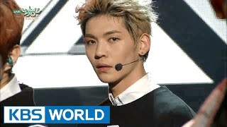 UP10TION - SO DANGEROUS / Catch me | 업텐션 - 위험해 / 여기여기 붙어라 [Music Bank HOT Stage / 2016.01.08]