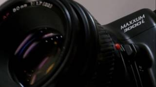 AF FILM TEST: Vintage 1980's Minolta 3000i + Maxxum 50mm 1.7: Camera and Lens