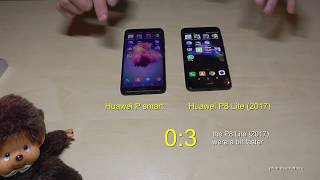 Huawei P smart VS Huawei P8 Lite (2017): Quick SPEED TEST - Which one is faster?
