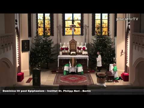 Dominica III post Epiphaniam 01 Introitus - Traditional Latin Mass