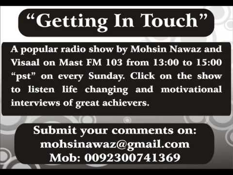 interview asma saeed khan by mohsin nawaz and visaal on mast fm 103