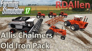 Allis Chalmers + Gleaner Old Iron Pack - Farming Simulator 17 Mod Review