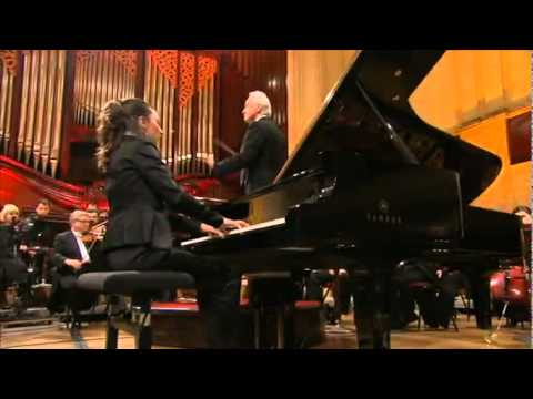 Chopin Competition 2010 - Yulianna Avdeeva - Piano Concerto no1 in e minor - 1st movement (1/2)