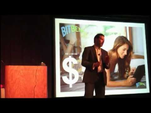 BitBend's Rob Brown at Technori Pitch