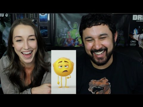 THE EMOJI MOVIE TRAILER TEASER REACTION & DISCUSSION!!!