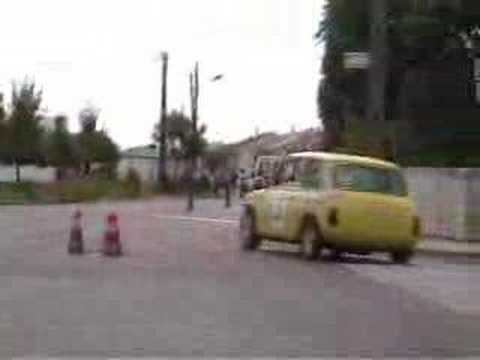 Mini Cooper Stunts