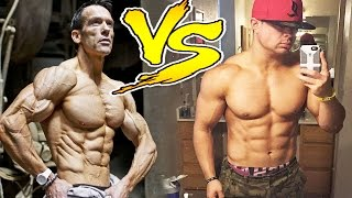 Shredded VS Lean Muscle