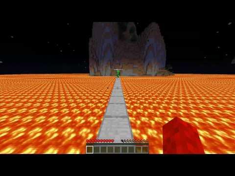 Minecraft: Lava Island's Survival Ep.1 Bridge of terror!