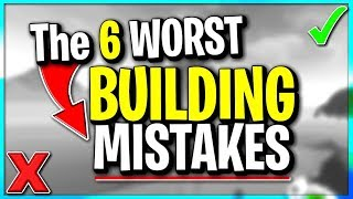 6 Building Mistakes Bad Players Make