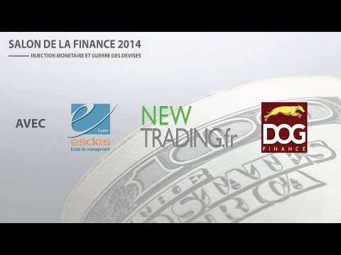 Salon de la Finance -- Olivier Delamarche sur l'injection monétaire (Partie 1)