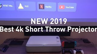 Best Home Theater Laser Projector | 4k Ultra Short Throw for Movies & Games from Vava