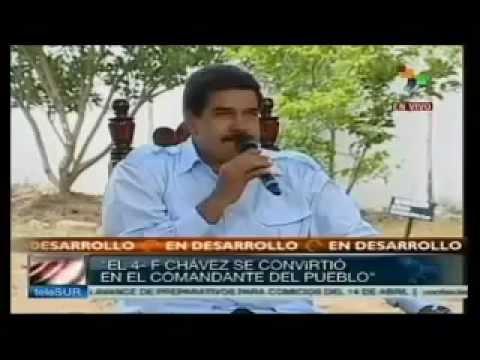 Maduro y Chuck Norris