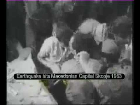 English DESCRIPTION: 26.07.1963 Thousands of people were feared dead after a massive earthquake rocked the Macedonian capital Skopje of the then Socialist Re...