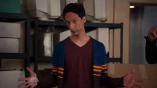 Abed channels Don Draper