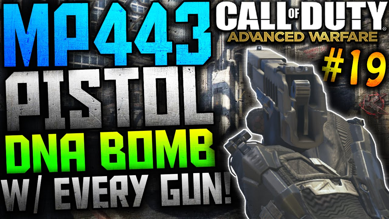 Bird Bomb Pistol Cod aw Mp433 Pistol Dna Bomb