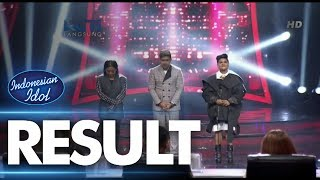 RESULT - Road To Grand Final - Indonesian Idol 2018