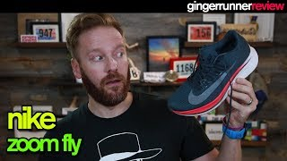 NIKE ZOOM FLY REVIEW | The Ginger Runner