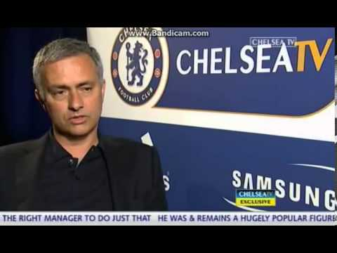 Jose Mourinho Full First Interview since return to Chelsea TV Exclusive 03.06.2013
