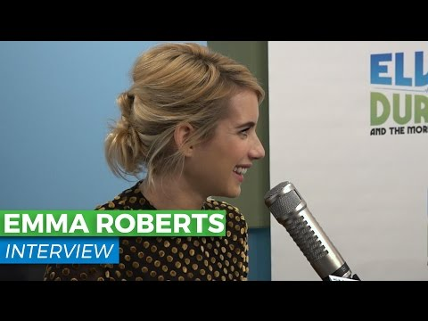 Emma Roberts Chats About New Movie 'Nerve' and American Horror Story | Elvis Duran Show