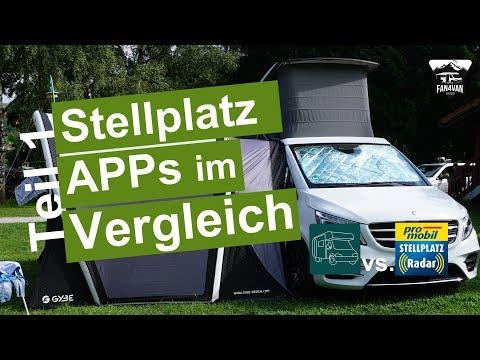 Die BESTEN Stellplatz APPs für Wohnmobile - Der VERGLEICH - Teil 1
