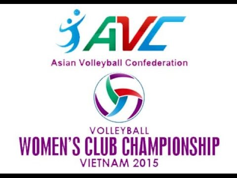 [Quarter Final]Thong Tin Lien Viet  vs  Zhejiang : Asian Women's Club Volleyball Championship 2015